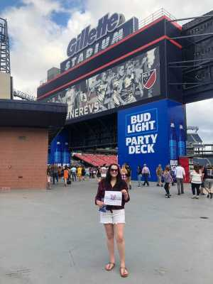 SMarie  attended George Strait - Live in Concert on Aug 17th 2019 via VetTix