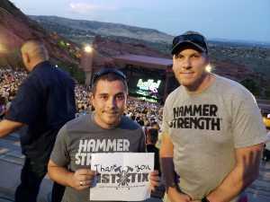 Derek attended Lionel Richie - Tonight! on Aug 14th 2019 via VetTix