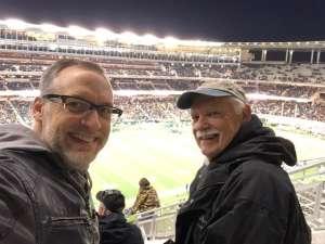 Christopher attended Baylor Bears vs. West Virginia - NCAA Football on Oct 31st 2019 via VetTix