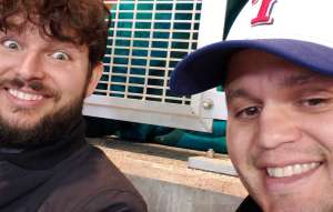 Allan attended Baylor Bears vs. West Virginia - NCAA Football on Oct 31st 2019 via VetTix