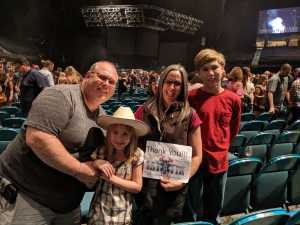 Joyce attended Chris Young: Raised on Country Tour on Aug 17th 2019 via VetTix