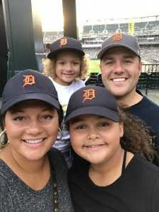 Benjamin attended Detroit Tigers vs. New York Yankees - MLB on Sep 10th 2019 via VetTix