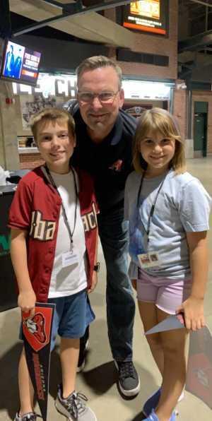 Kenney attended Arizona Diamondbacks vs. Cincinnati Reds - MLB on Sep 13th 2019 via VetTix