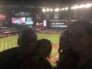 David attended Arizona Diamondbacks vs. Cincinnati Reds - MLB on Sep 13th 2019 via VetTix