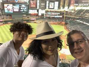 William attended Arizona Diamondbacks vs. Cincinnati Reds - MLB on Sep 13th 2019 via VetTix