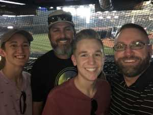 Michael attended Drone Racing League: 2019 Drl/ Allianz Race at Chase Field on Sep 8th 2019 via VetTix