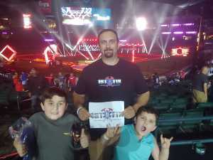 Alex attended Drone Racing League: 2019 Drl/ Allianz Race at Chase Field on Sep 8th 2019 via VetTix