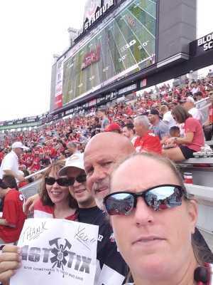 LARRY attended Ohio State Buckeyes Football vs. Cincinnati Bearcats - NCAA Football on Sep 7th 2019 via VetTix