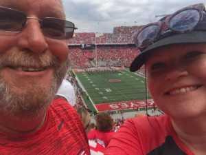 RUSSELL attended Ohio State Buckeyes Football vs. Cincinnati Bearcats - NCAA Football on Sep 7th 2019 via VetTix