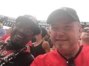 John attended Ohio State Buckeyes Football vs. Cincinnati Bearcats - NCAA Football on Sep 7th 2019 via VetTix