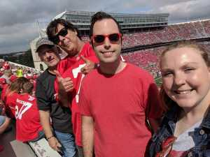 Connor attended Ohio State Buckeyes Football vs. Cincinnati Bearcats - NCAA Football on Sep 7th 2019 via VetTix