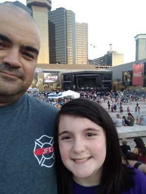 Scott attended Chris Young: Raised on Country Tour on Sep 6th 2019 via VetTix