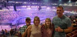 Stephen attended Carrie Underwood - the Cry Pretty Tour on Sep 10th 2019 via VetTix