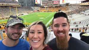 Sean attended Arizona State Sun Devils vs. Sacramento State - NCAA Football on Sep 6th 2019 via VetTix
