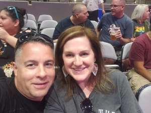 Tim attended 97. 1 the Eagle Presents Stone Temple Pilots and Rival Sons on Oct 3rd 2019 via VetTix