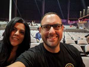 John attended 97. 1 the Eagle Presents Stone Temple Pilots and Rival Sons on Oct 3rd 2019 via VetTix