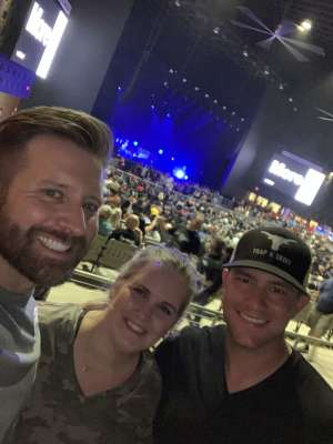 Joshua attended 97. 1 the Eagle Presents Stone Temple Pilots and Rival Sons on Oct 3rd 2019 via VetTix