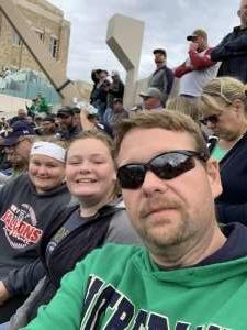 Mark attended University of Notre Dame Fightin Irish vs. Bowling Green - NCAA Football on Oct 5th 2019 via VetTix