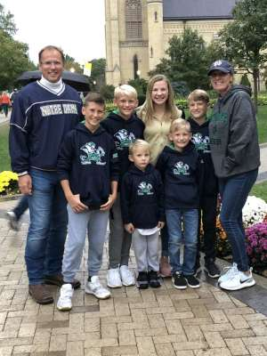 Josh attended University of Notre Dame Fightin Irish vs. Bowling Green - NCAA Football on Oct 5th 2019 via VetTix