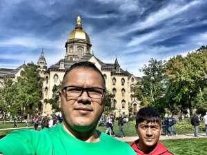 Marco attended University of Notre Dame Fightin Irish vs. Bowling Green - NCAA Football on Oct 5th 2019 via VetTix