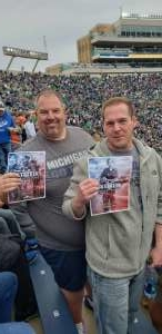 Adam attended University of Notre Dame Fightin Irish vs. Bowling Green - NCAA Football on Oct 5th 2019 via VetTix