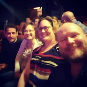 Bryan attended Broadway's Rock of Ages Band on Oct 5th 2019 via VetTix