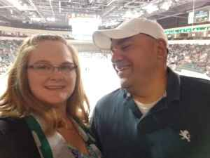 Shawna attended Texas Stars vs. San Antonio Rampage - AHL on Sep 27th 2019 via VetTix