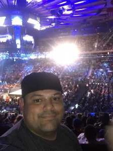 richard attended WWE Smackdown Live on Sep 10th 2019 via VetTix