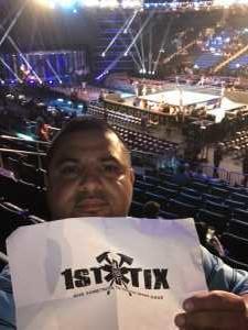 jose attended WWE Smackdown Live on Sep 10th 2019 via VetTix