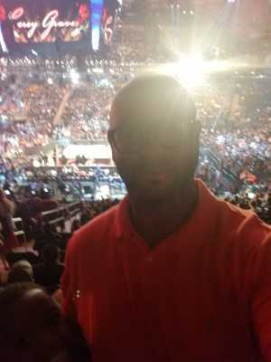 Anthony attended WWE Smackdown Live on Sep 10th 2019 via VetTix