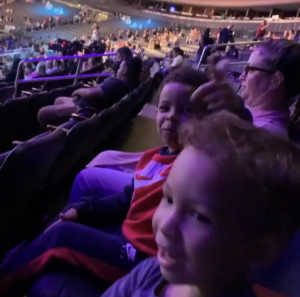 Oliver attended WWE Smackdown Live on Sep 10th 2019 via VetTix