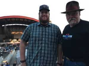 Lawrence attended ZZ Top - 50th Anniversary Tour on Sep 19th 2019 via VetTix