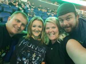Thomas attended Disturbed: Evolution Tour on Sep 22nd 2019 via VetTix