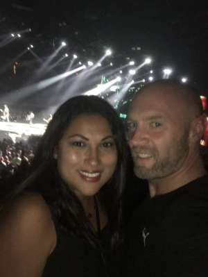 joshua attended Disturbed Evolution Tour With in This Moment on Oct 2nd 2019 via VetTix