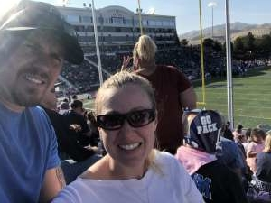 Zack attended University of Nevada Wolf Pack vs. San Jose State Spartans - General Admission - NCAA Football on Oct 12th 2019 via VetTix