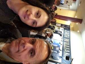 Stephanie attended Zach Williams on Oct 13th 2019 via VetTix