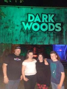 Justin attended Dark Woods Haunted Attraction Tickets Good for Oct. 4th or 5th Only on Oct 4th 2019 via VetTix