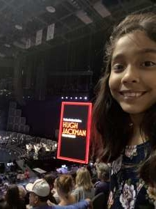 Thomas attended Hugh Jackman: the Man. The Music. The Show. on Oct 15th 2019 via VetTix