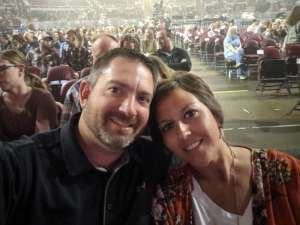 Mike attended Chris Young: Raised on Country Tour on Oct 5th 2019 via VetTix