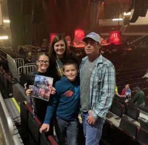 Grace attended Chris Young: Raised on Country Tour on Oct 5th 2019 via VetTix