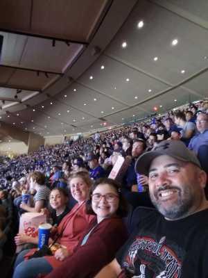 Todd attended New York Rangers vs. New York Islanders on Sep 24th 2019 via VetTix