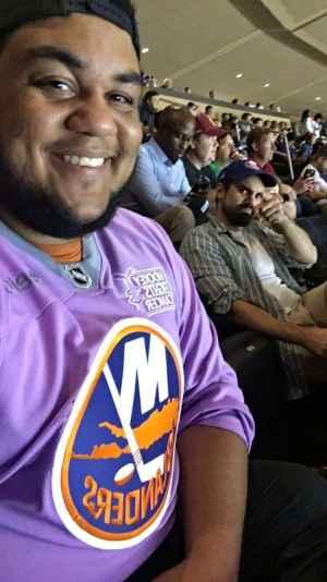 James attended New York Rangers vs. New York Islanders on Sep 24th 2019 via VetTix