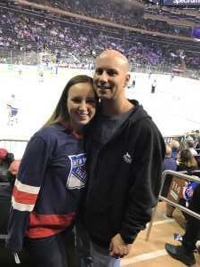 Chris attended New York Rangers vs. New York Islanders on Sep 24th 2019 via VetTix