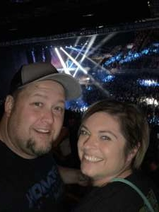 John attended Shinedown - Attention Attention World Tour - Reserved Seating on Oct 8th 2019 via VetTix