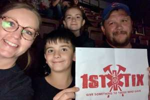 Robert attended Shinedown: Attention Attention World Tour on Oct 5th 2019 via VetTix