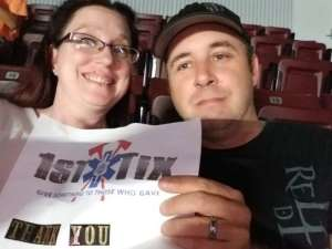 Charles attended Shinedown: Attention Attention World Tour on Oct 5th 2019 via VetTix