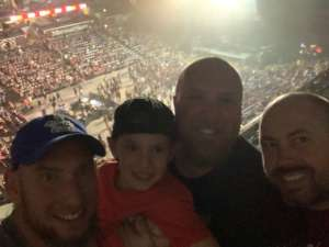 Richard  attended Shinedown: Attention Attention World Tour on Oct 5th 2019 via VetTix