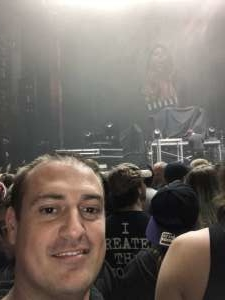 Gregory  attended Shinedown - Attention Attention World Tour on Oct 6th 2019 via VetTix