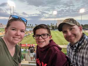 Chad attended Tampa Bay Rowdies vs. Indy Eleven - USL on Oct 12th 2019 via VetTix
