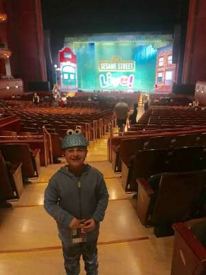 Candice attended Sesame Street Live! Make Your Magic - 6 PM Show on Oct 4th 2019 via VetTix
